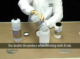 Bathtub Paint Repair Fiberglass Tub U0026 Shower Unit Refinishing Youtube