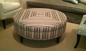 Kravet Ottoman Modern Striped Ottoman And Upholstery The Designer Insider