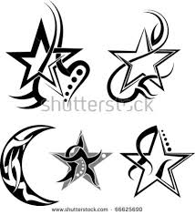 moon tattoo stock images royalty free images u0026 vectors shutterstock