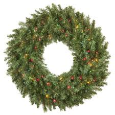 Christmas Wreath Decorations Wholesale by Artificial Christmas Wreaths Brighton Fir Prelit Artificial