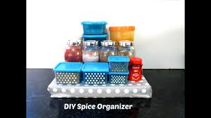 diy spice organizer for kitchen kitchen organization ideas