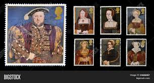Tudor King Stamps Dedicated To The Great Tudor Shows King Henry Viii And His