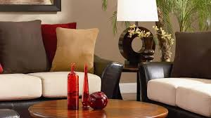 red and white furniture solid wood and iron material grey wool