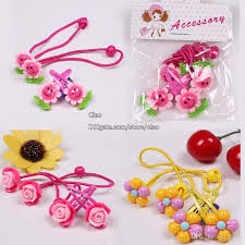 baby hair clip barrettes children hair accessories kids korean flower clip