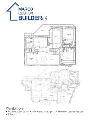 Floor Plans For Large Families by Custom Floor Plan Bayview