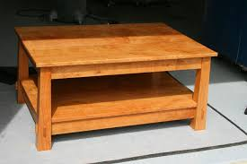 Easy Wood Coffee Table Plans by Lighthouse Woodworking