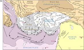 World Plate Boundaries Map by Seismic Structure Crustal Architecture And Tectonic Evolution Of