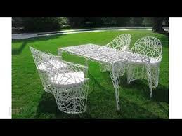design modern metal outdoor furniture youtube