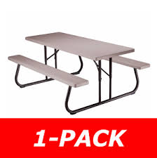 Lifetime Folding Picnic Table Lifetime 22119 Lifetime 6 Folding Picnic Table On Sale Free