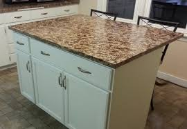 delighful diy kitchen island from cabinets update midwaycould
