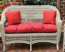 Sunbrella Indoor Sofa by Sunbrella Indoor Outdoor Belair Loveseat Replacement Cushion