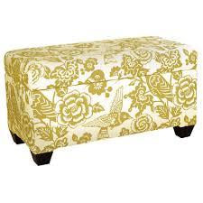 skyline furniture upholstered storage ottoman u0026 reviews wayfair