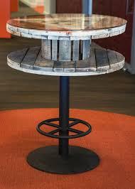 repurposed wire spool ideas
