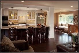 kitchen living room open floor plan kitchen living room open floor plan glass pendant lights