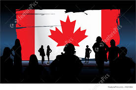 flags canadian flag stock illustration i1921964 at featurepics