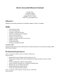 junior accountant resume objective accounting resume objective 16