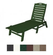 Adirondack Chaise Lounge Poly Wood Makes Recycled Plastic Patio Furniture Trendy
