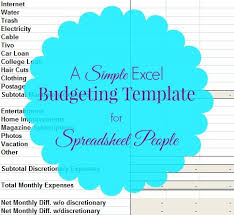 Excel Budget Spreadsheet Templates Best 25 Excel Budget Template Ideas On Budget
