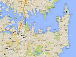 Sydney Map Sydney Practical Basic Essentials Ttp