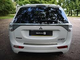 white mitsubishi sports car used pearlescent white mitsubishi outlander phev for sale