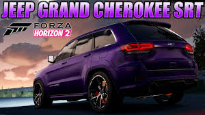 purple jeep cherokee forza horizon 2 2014 jeep grand cherokee srt review build much