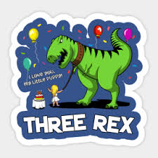 dinosaur birthday dinosaur birthday party stickers teepublic