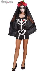 la muerte costume starter dress costume dia de los muertos costume mexican day of