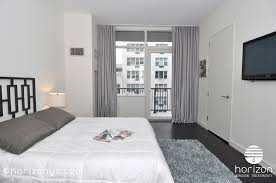 Curtains In A Grey Room Ripplefold Curtains Bedroom 300 East 23rd Tempo Nyc