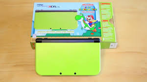 new 3ds xl black friday new 3ds xl lime green amazon exclusive unboxing youtube