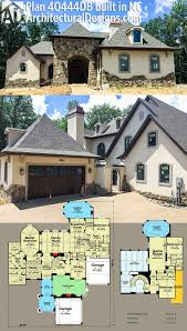 plan 40444db exceptional french country manor architectural