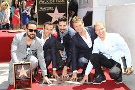 Hollywood Walk Of Fame Map Backstreet U0027s Back Alright Backstreet Boys Land Star On Hollywood