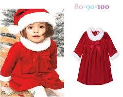 2017 christmas costume gift baby santa claus clothing sets