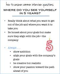 How To Get Your Resume Past Computer Screening Tactics Here Is What To Say When Asked U0027where Do You See Yourself In 5