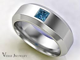 blue man rings images Princess blue diamond man wedding band vidar jewelry unique jpg