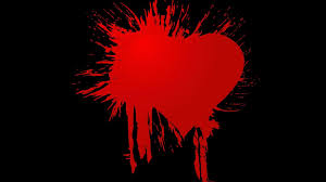 quotes heart bleeding heart mobile dark backgrounds colourful emo mood gothic blood