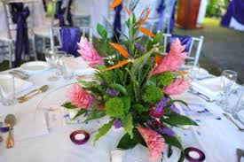 wedding flowers jamaica jamaican wedding centerpieces jamaica weddings