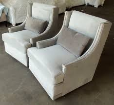 Microfiber Swivel Chair by Barnett Furniture Robin Bruce Lindsayswivel Chair