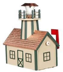 solar lighthouse light kit lighthouse mailbox lighthouse mailbox with solar light and copper