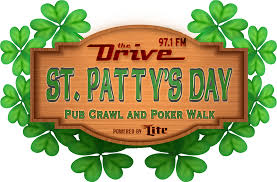 the drive u0027s st patty u0027s day pub crawl and poker walk in downtown
