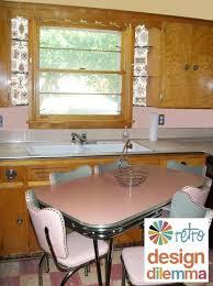 retro kitchen furniture best 25 retro kitchen tables ideas on kitchen dinette
