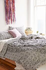 White Bedroom Comforters Bedroom Wonderful Pattern Bedding Design Ideas With Hippie Duvet