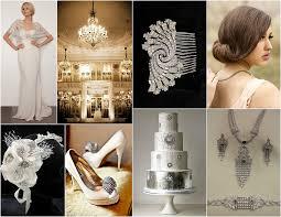 Art Deco Wedding Roaring 20 U0027s Art Deco Wedding Inspiration Bridal Styles