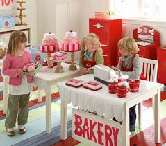 decorations kids playroom designs with wooden rack for awesome