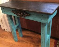 Wood End Tables Reclaimed Wood Table Etsy