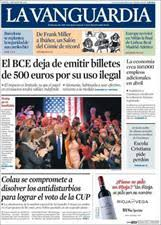 Challenge La Vanguardia Spain Papers Review Thursday May 5 2016 Spain News In