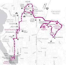 Solano County Map Soltrans Route 2 U2013 Northeast