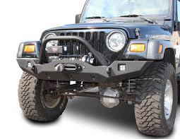 jeep front bumper wrangler front bumper vanguard full width jeep tj lj yj cj7