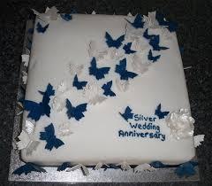 silver wedding anniversary cake wedding cake flavors