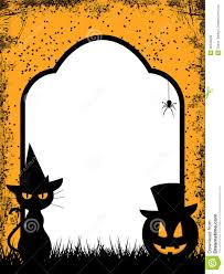 free halloween clip art borders u2013 fun for halloween