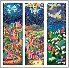 eyekons august swanson advent triptych cards